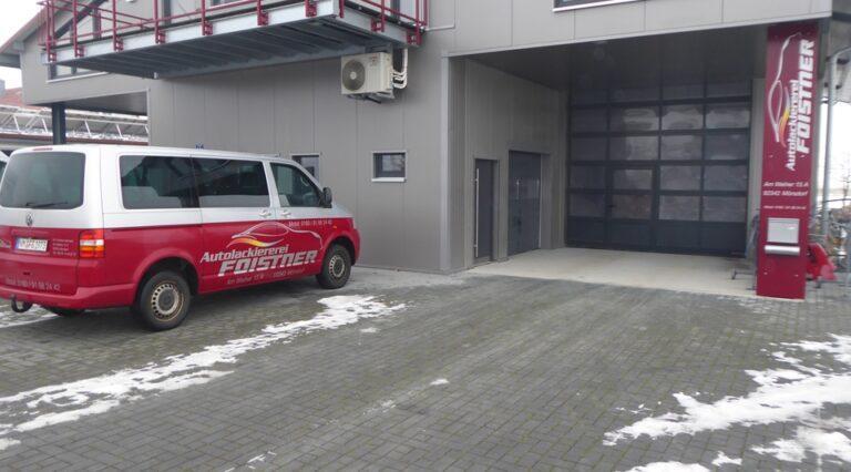 Unsere Autolackiererei in Freystadt-Mörsdorf